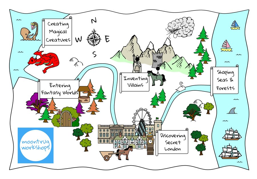 tourist walks for an international students programme london treasure map for playschool workshops
