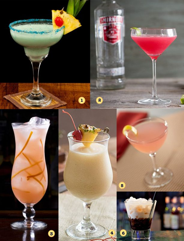 Travel Themed Cocktails